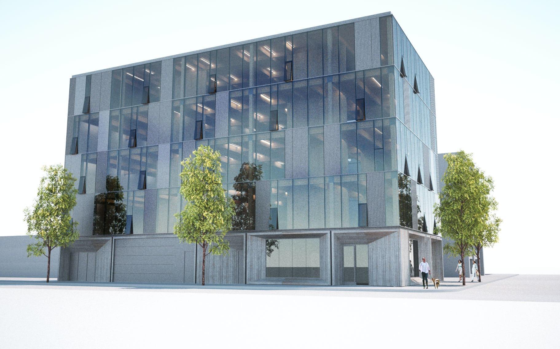 Framework exterior rendering