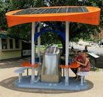 Ut solar charging station
