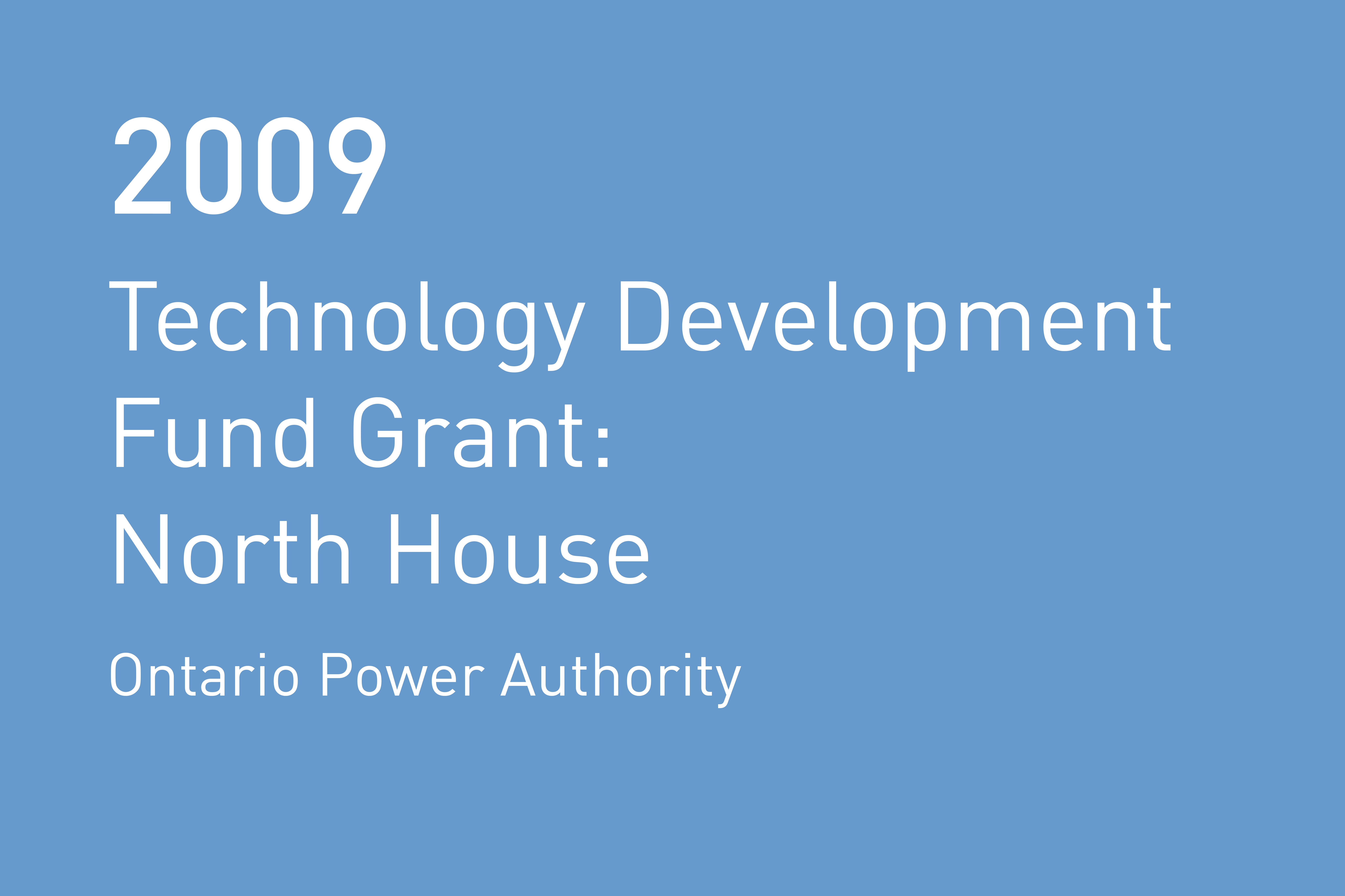 Rvtr 2009 ontario power authority