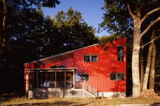 Thumb red house