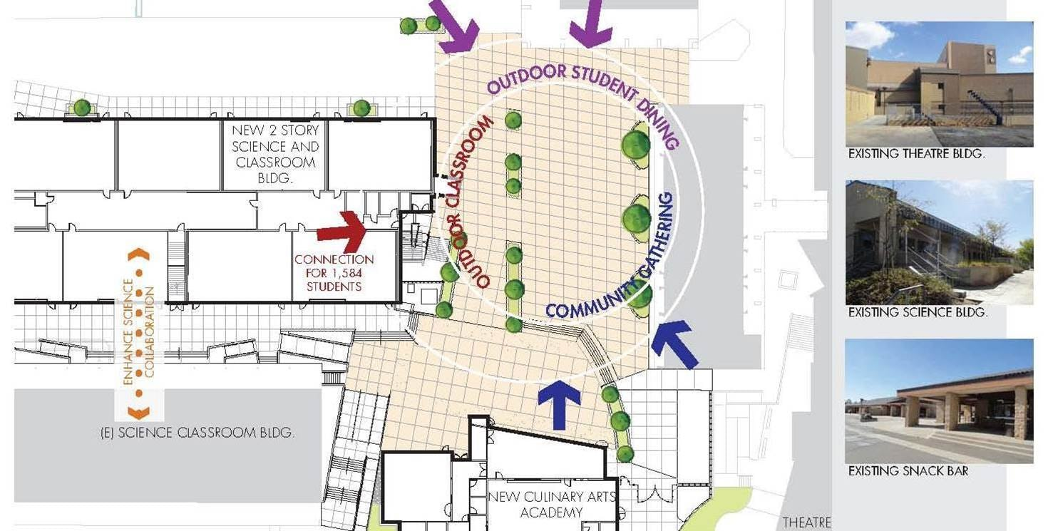 Temecula valley hs site plan
