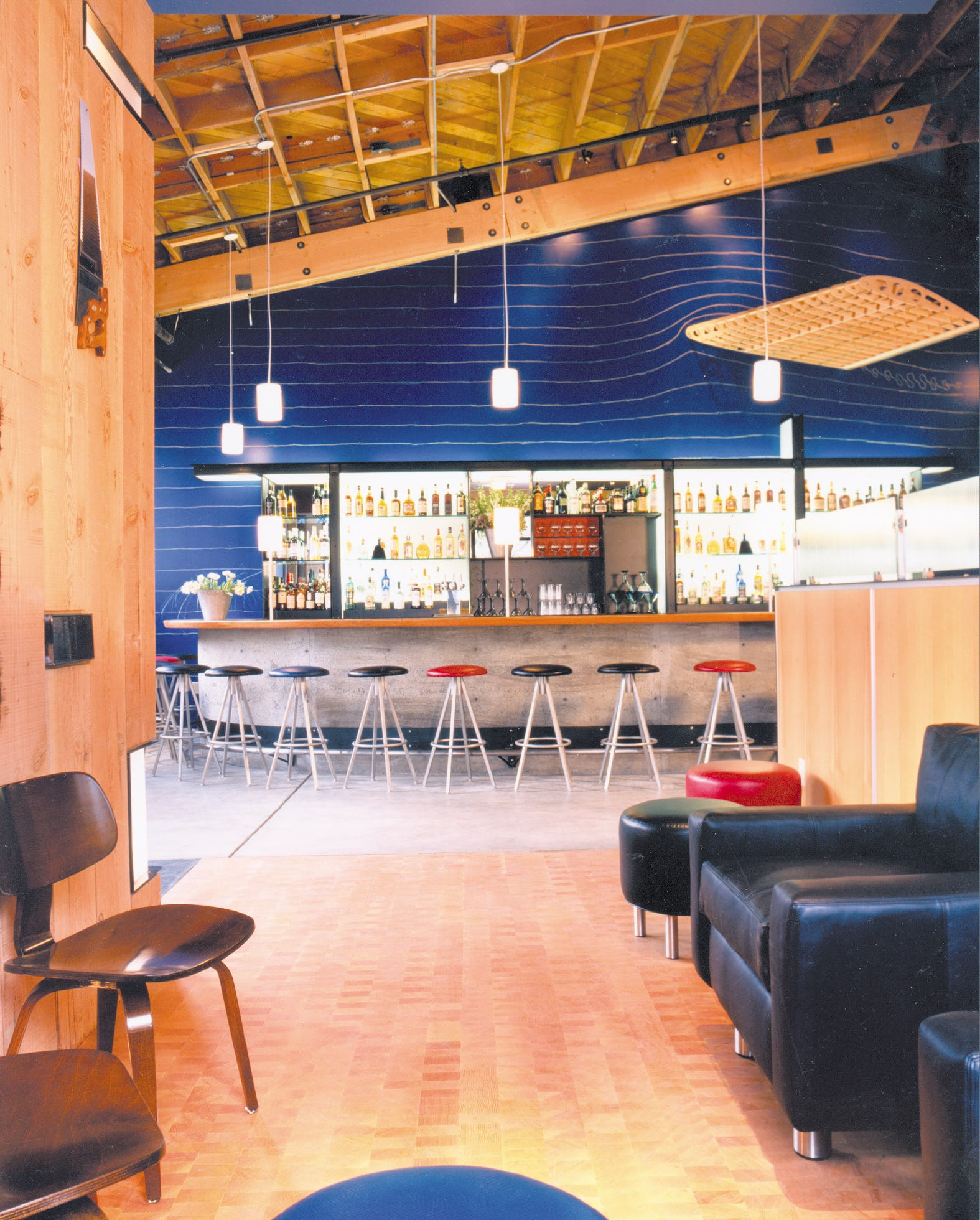 Builtform construction gordons wood bar entry modern smaller copy