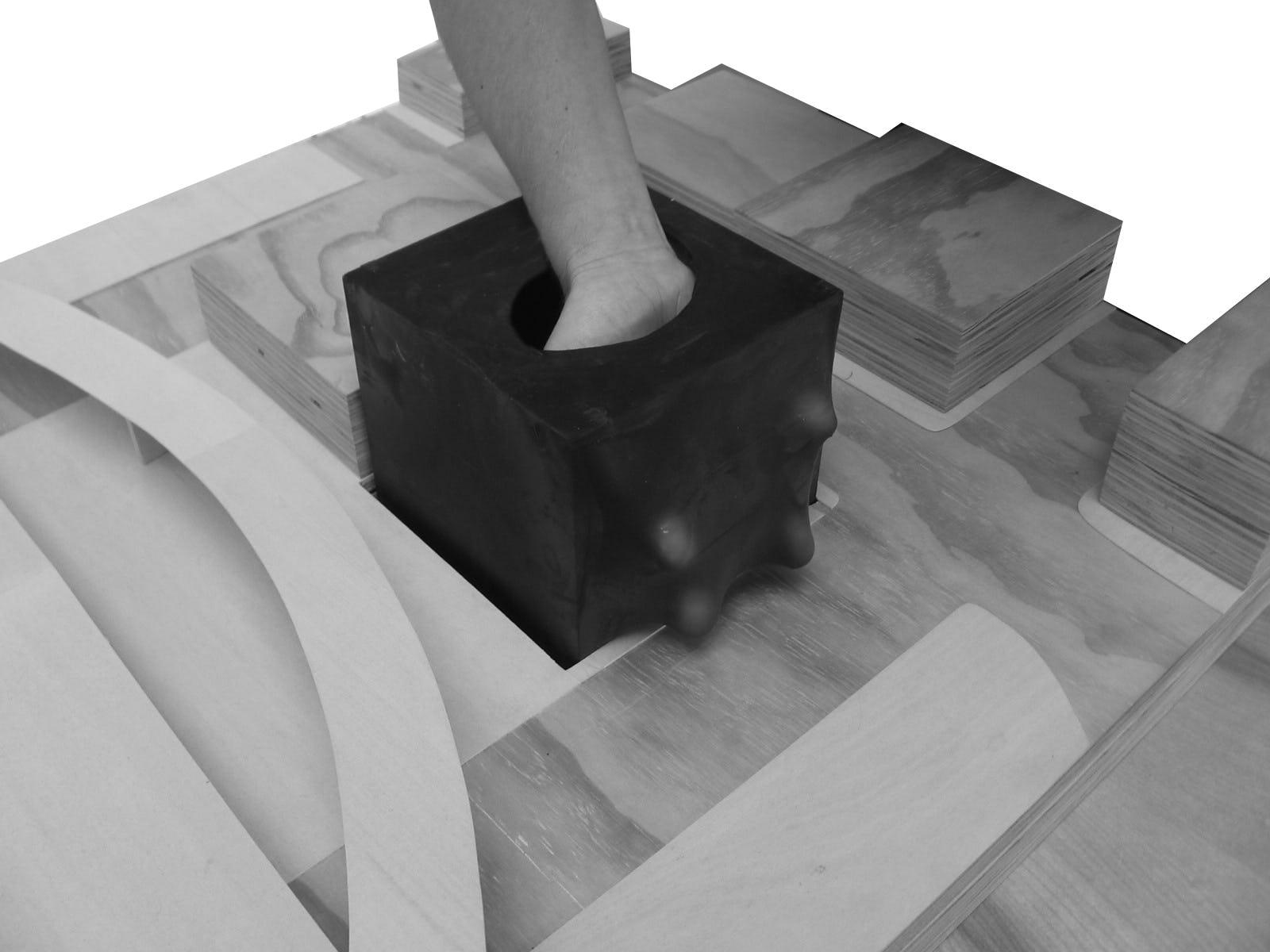 Hand stretch model