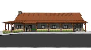 Traverse city hunting cabin rustic architect northern michigan