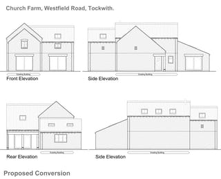 1057 105 proposed house type a elevations 31 01 19
