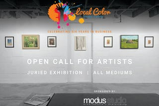 01 modus studio local color studio gallery juried exhibition graphic