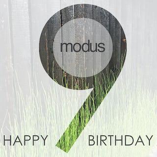 Modus 9th bday