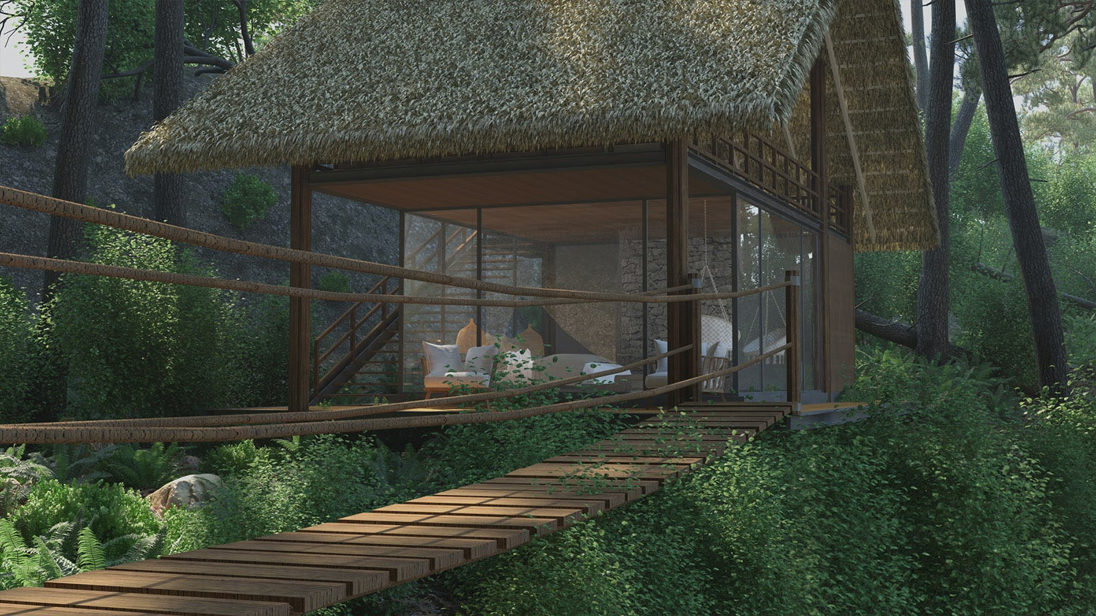 Forest chalet 03