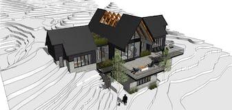 North45 architecture house91 modern northern michigan