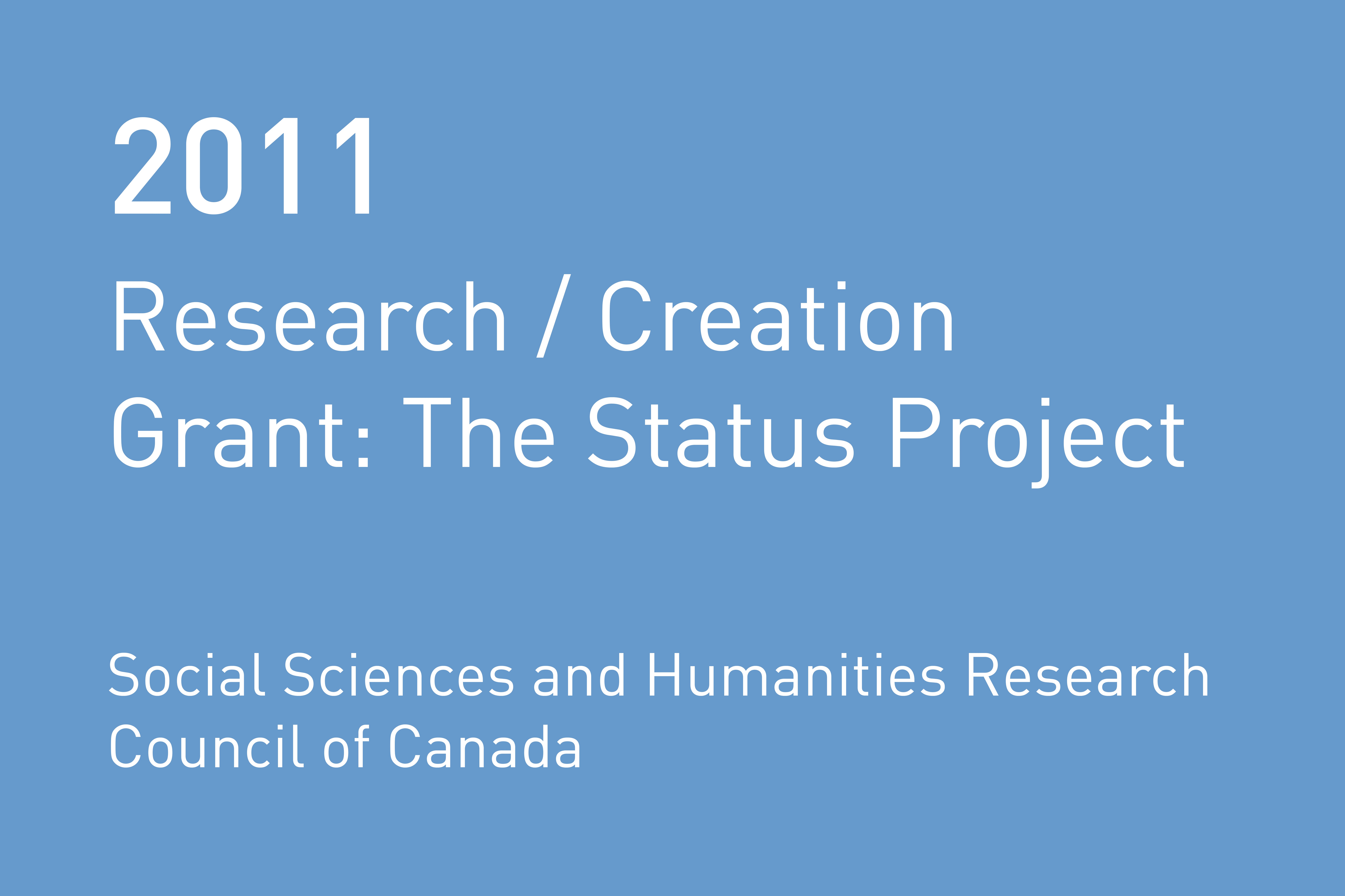Rvtr 2011 research creation