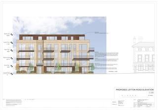 206 proposed leyton road elevation