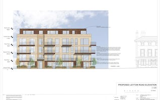 206 proposed leyton road elevation