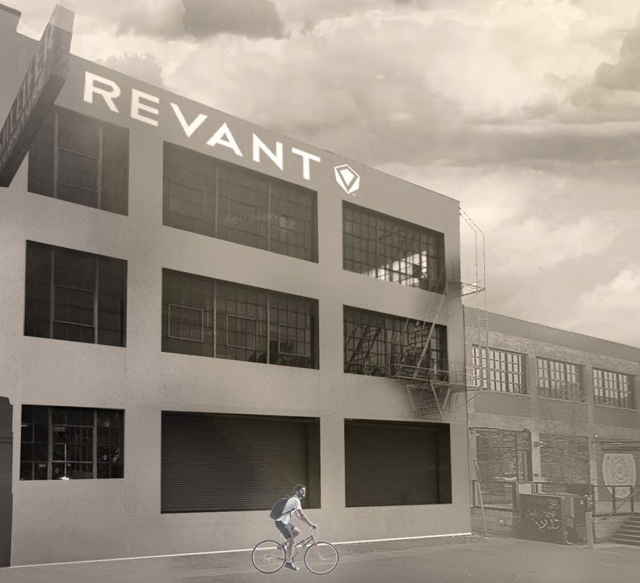 Revant siteworks design build urm unreinforced masonry portland oregon adpative reuse retrofit creative office