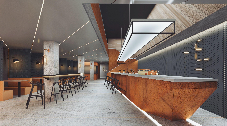 Logic cafe bar no people 2