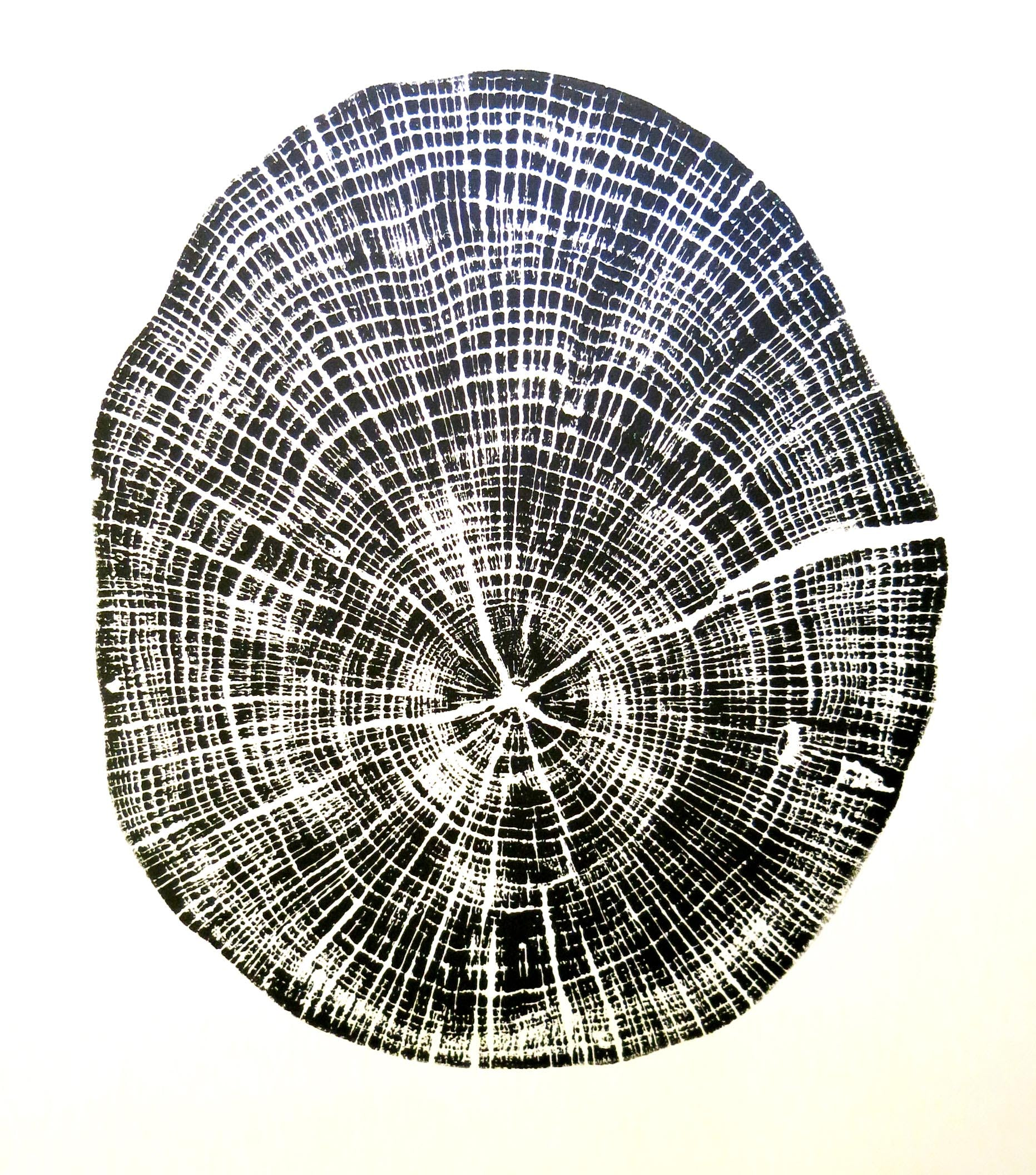 Oak print