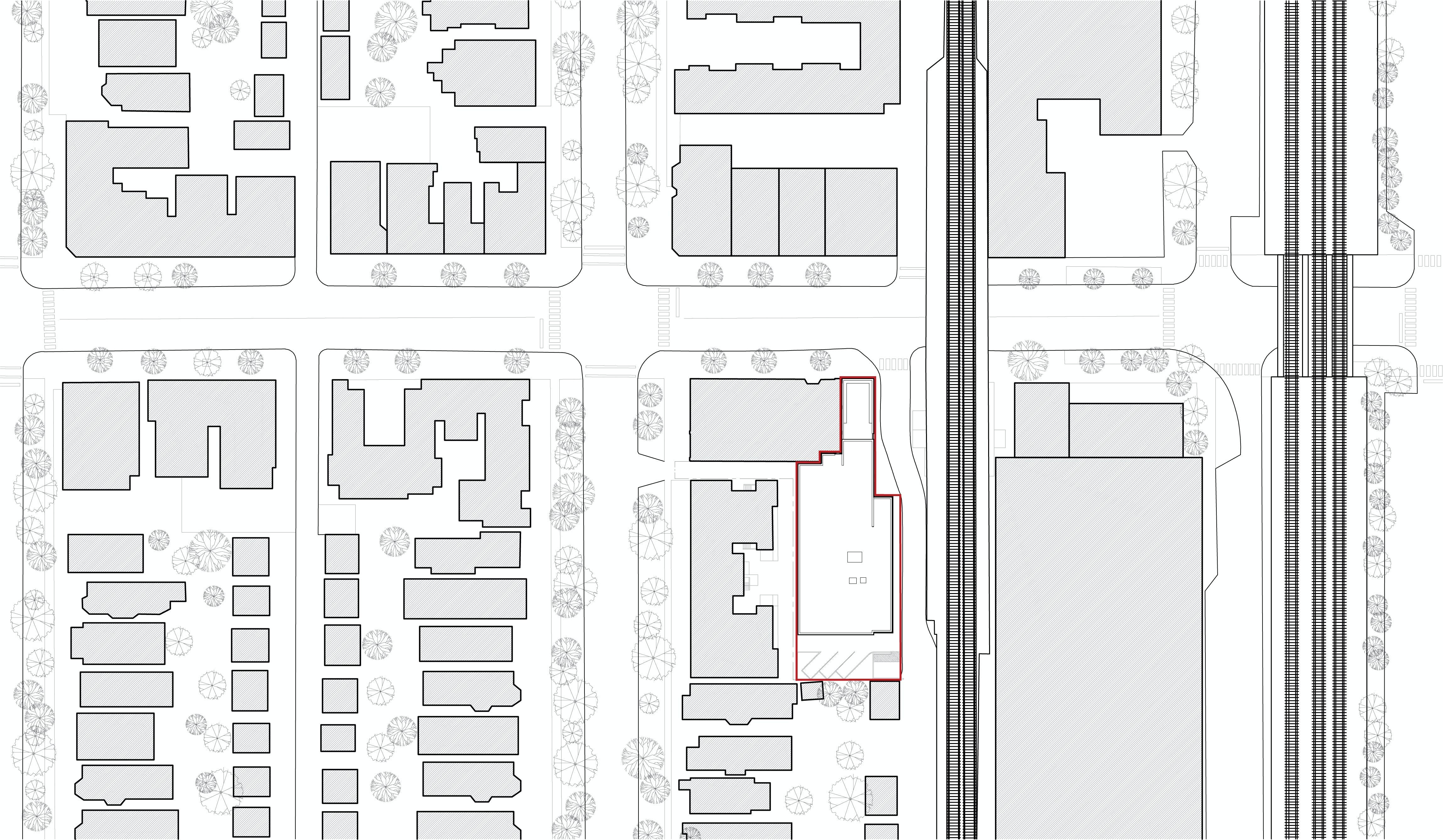 Montrose site plan