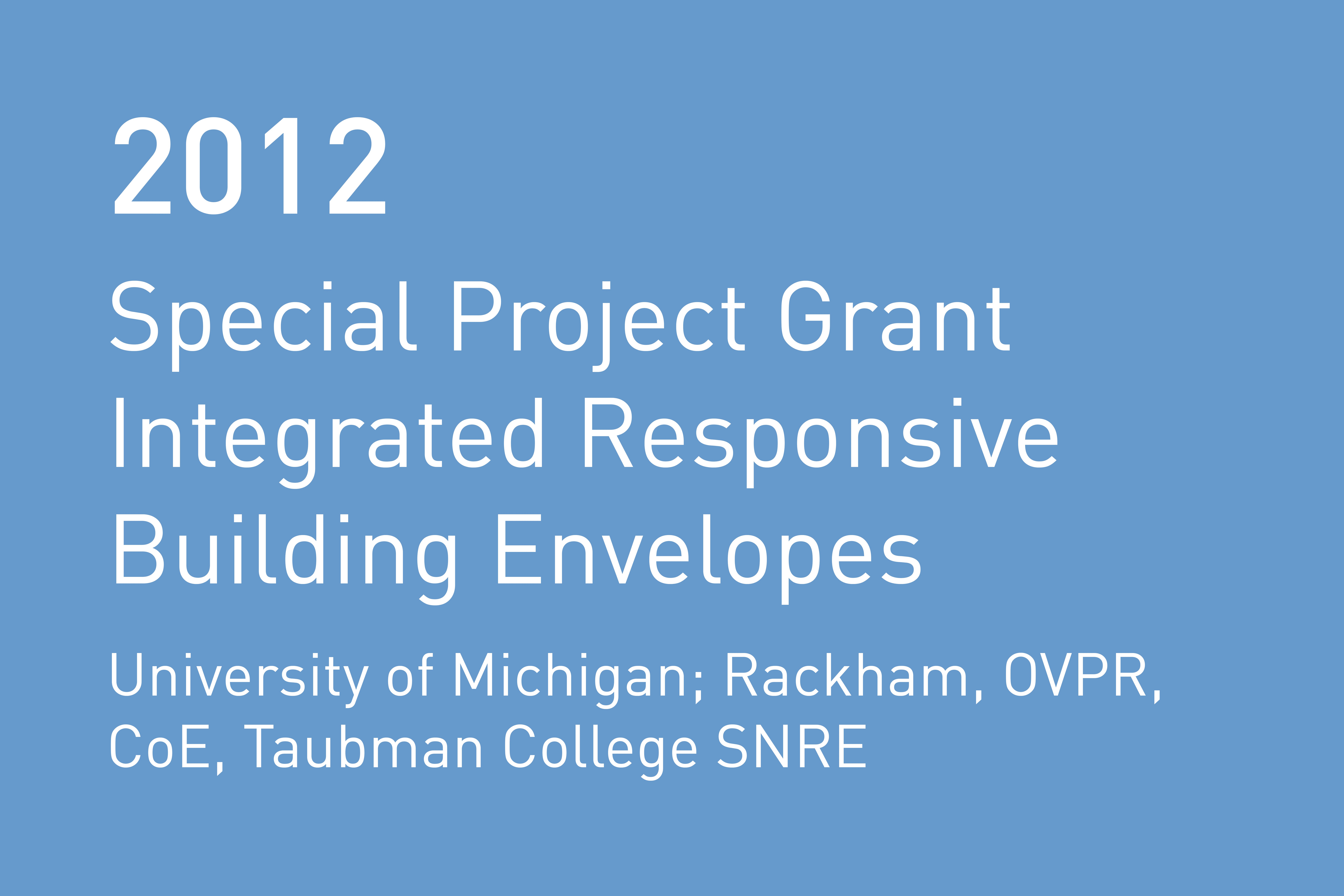 Rvtr 2012 special projects