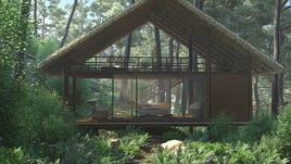 Forest chalet 02