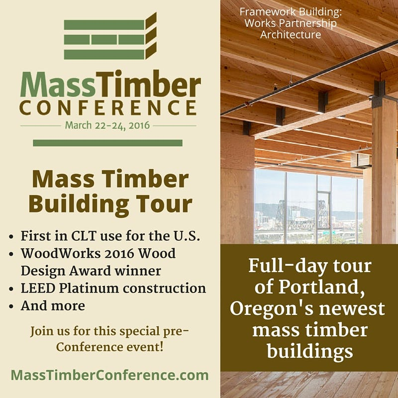 Portland mass timber building tour highlights