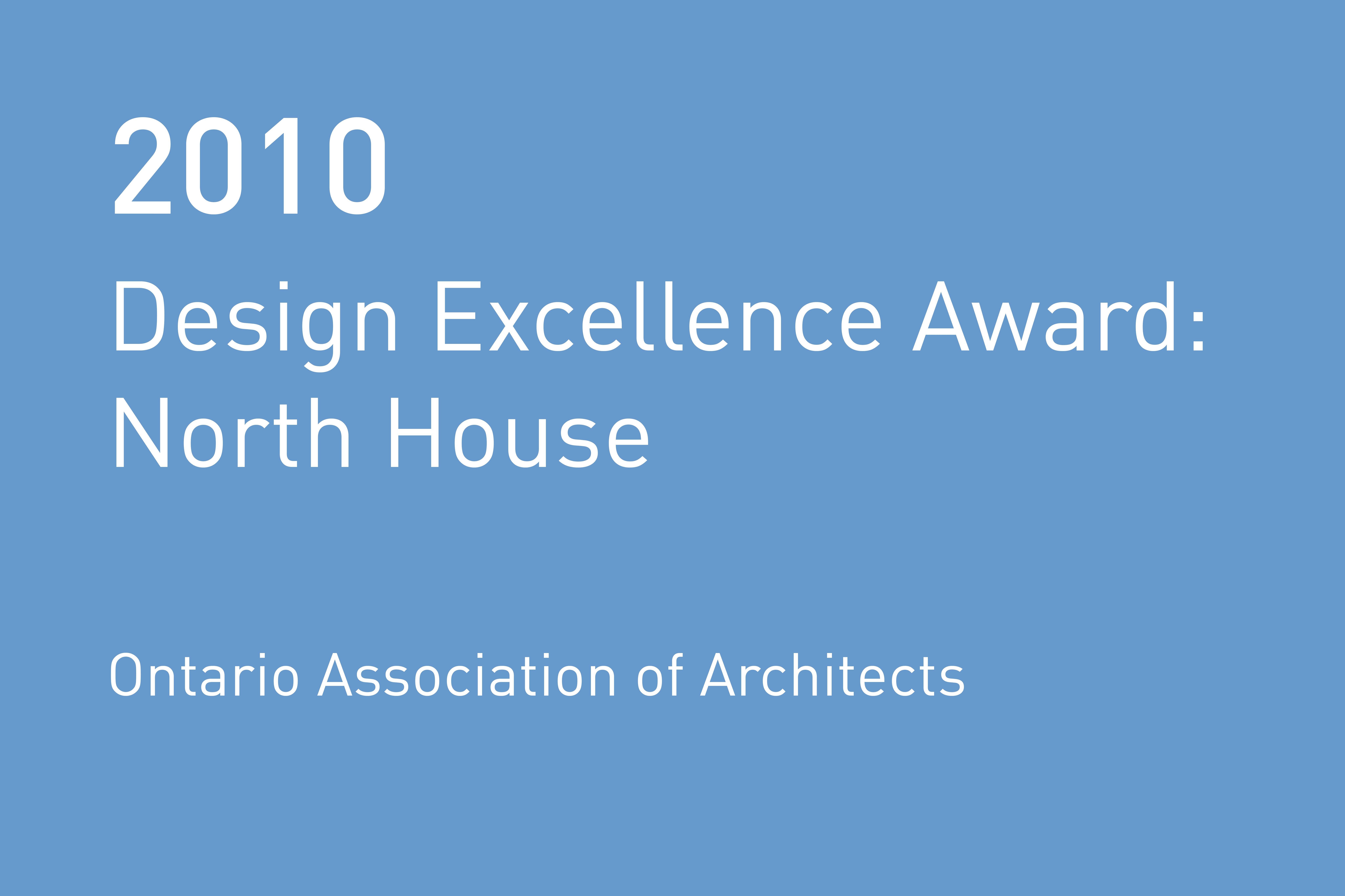 Rvtr 2010 ontario assoc architects