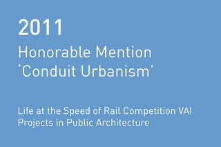 Rvtr 2011 vai conduit urbanism