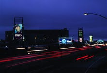 Coliseum night approach print