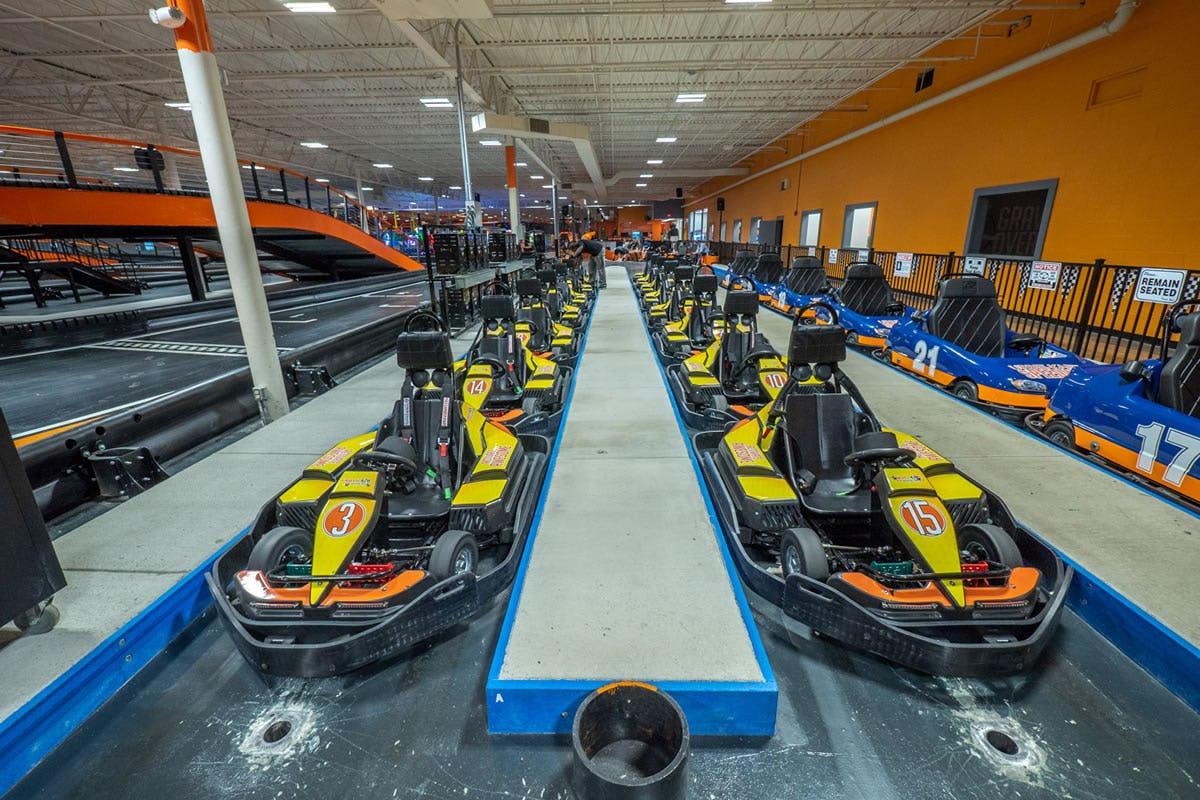 Orange ct 360 karting sm 10