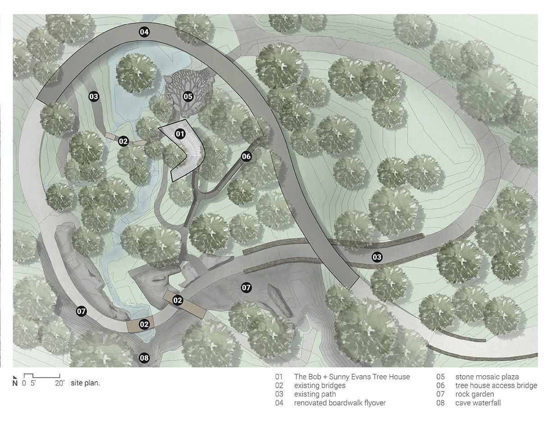Modus studio garvan tree house site plan