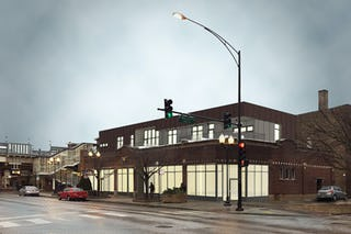 1831 montrose daytime render level architecture incorporated