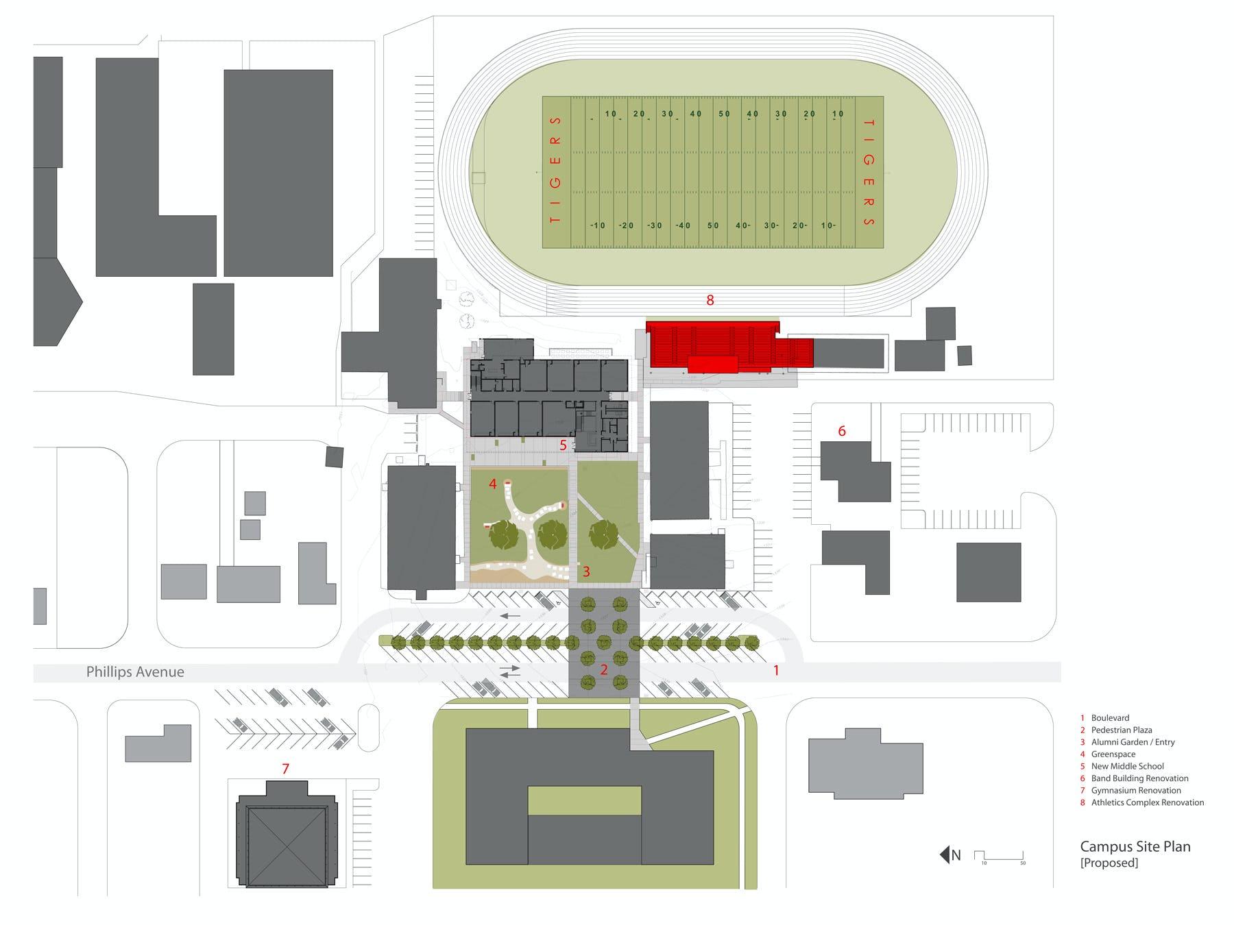 Gfac plan site plan