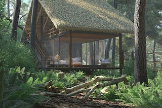 Forest chalet 01