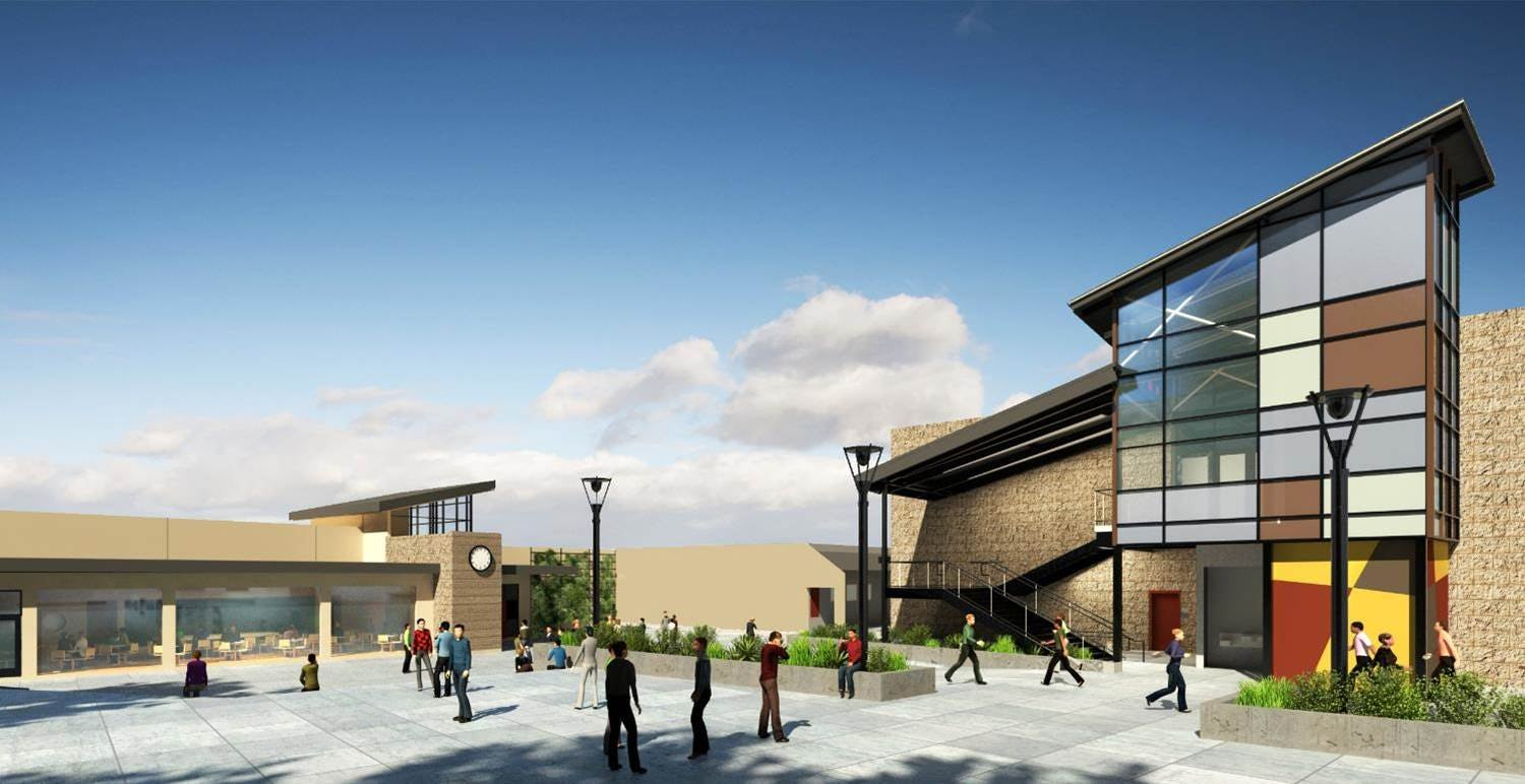 Temecula valley hs rendering