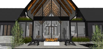 North45 house91 modern architecture northern michigan