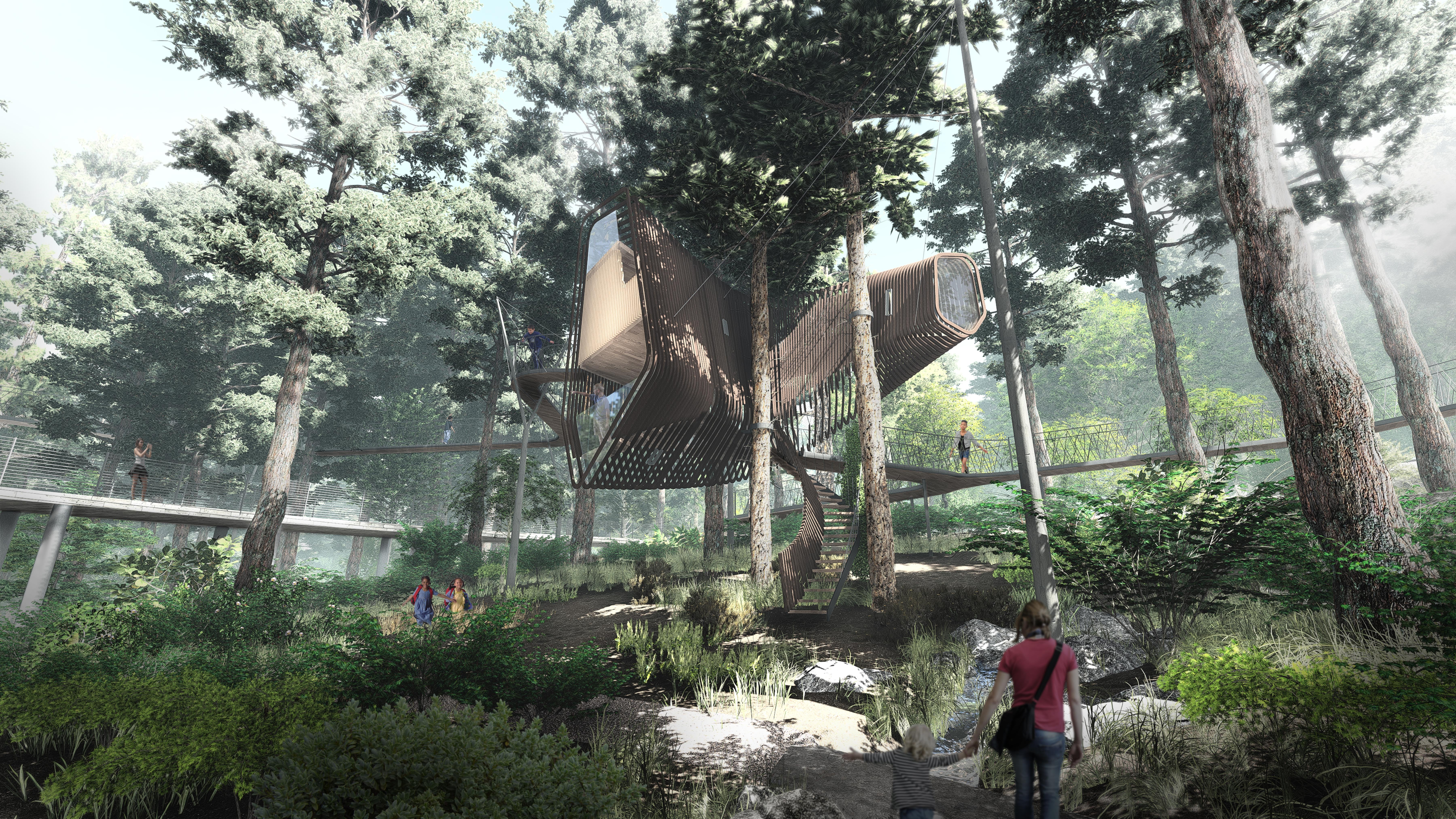 Treehouse exterior rendering 03 low res