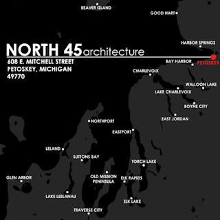 North45 location map