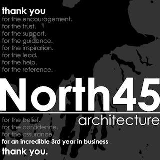 North45 architecture 3 year anniversary