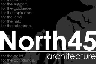 North45 architecture 3 year anniversary