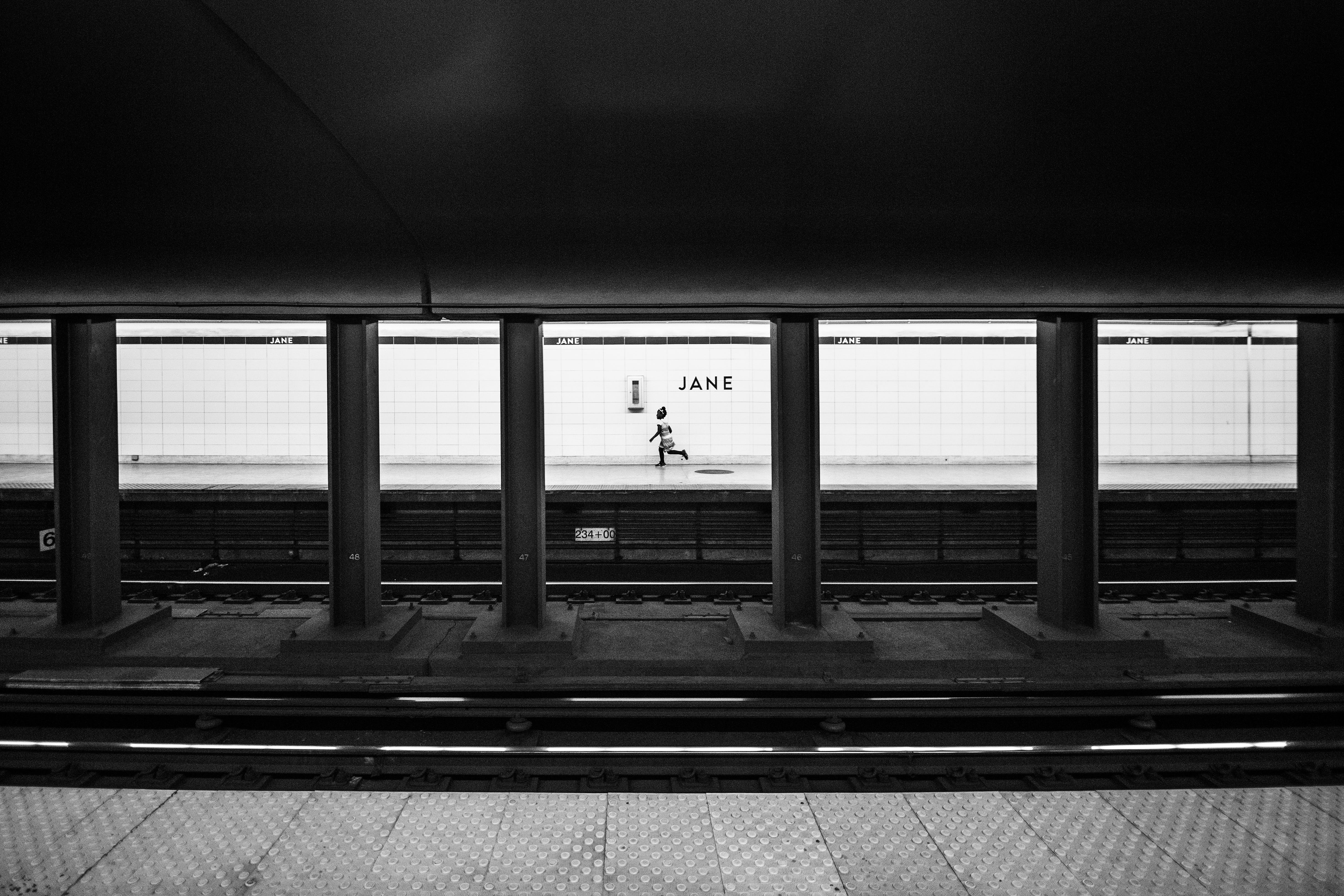 Stark subway girl matthew wiebe