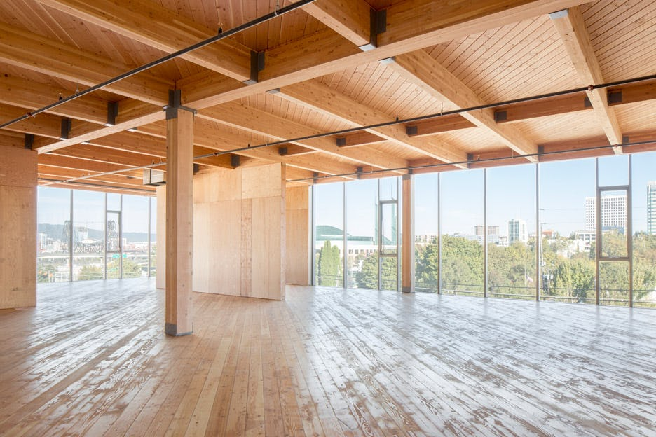 Framework worksarchitecture portland oregon usa cross laminated timber office building dezeen 936 2