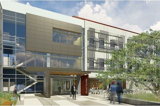 Kaiser permanente hub cancer center dublin rendering