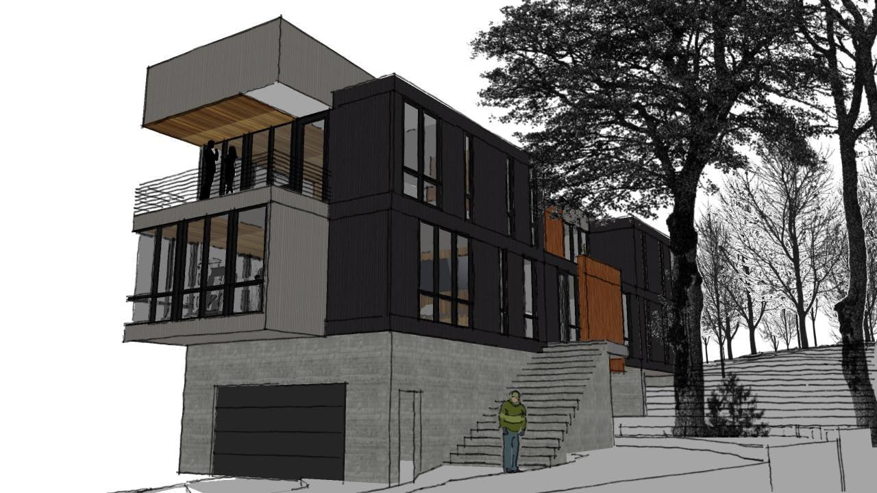 Modern architecture traverse city