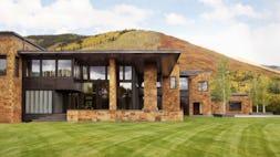 Aspen house front