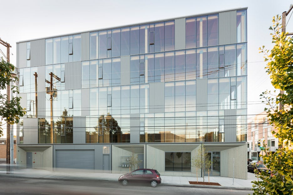 Framework worksarchitecture portland oregon usa cross laminated timber office building dezeen 936 12