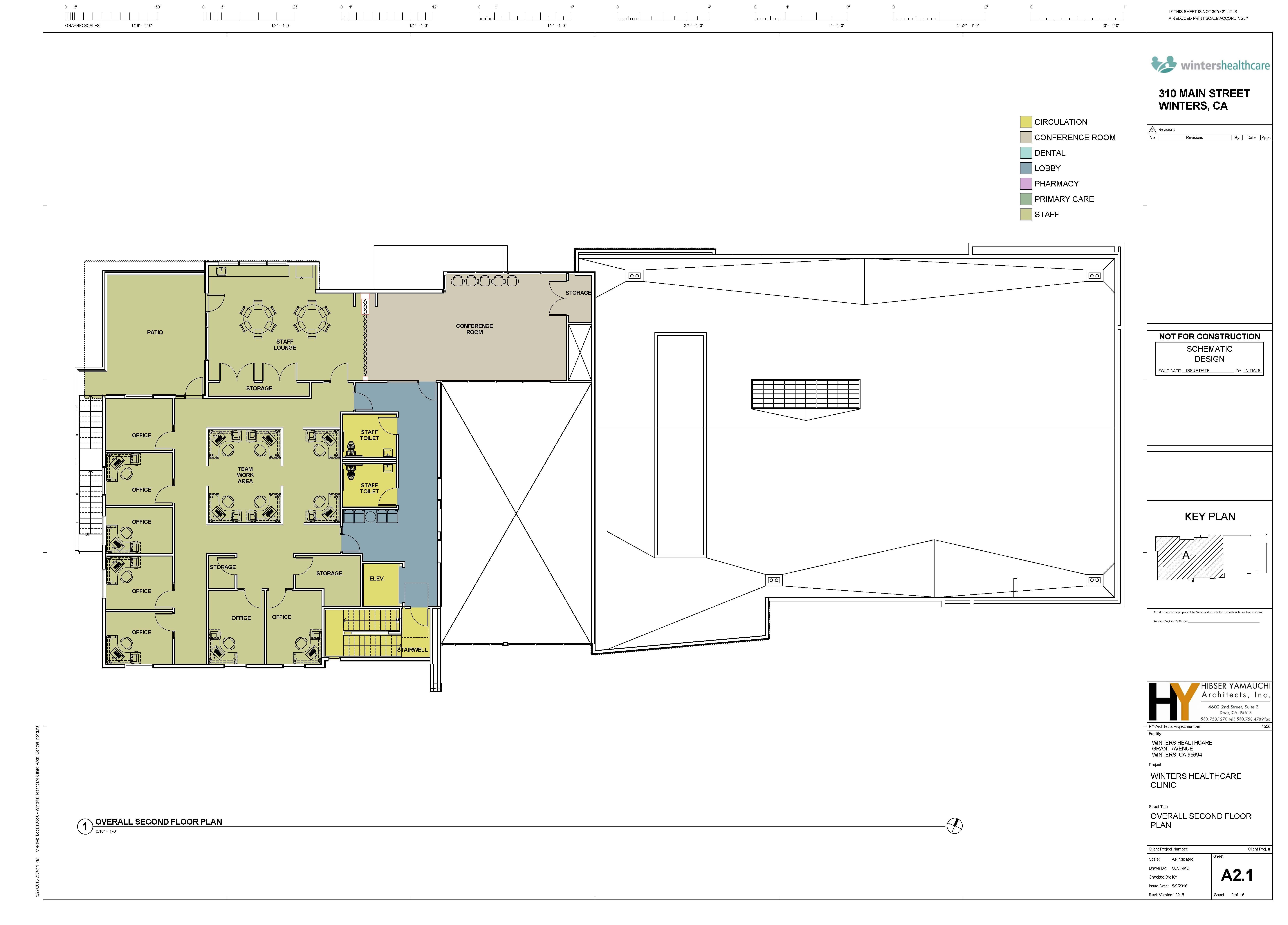Whc 2nd floor plan