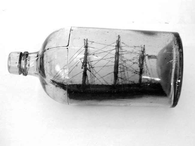 Framework the ship in a bottle