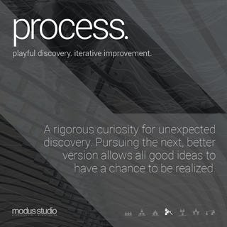 05 modus studio guiding principles process