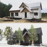 Modern farmhouse boyne falls architect house 95