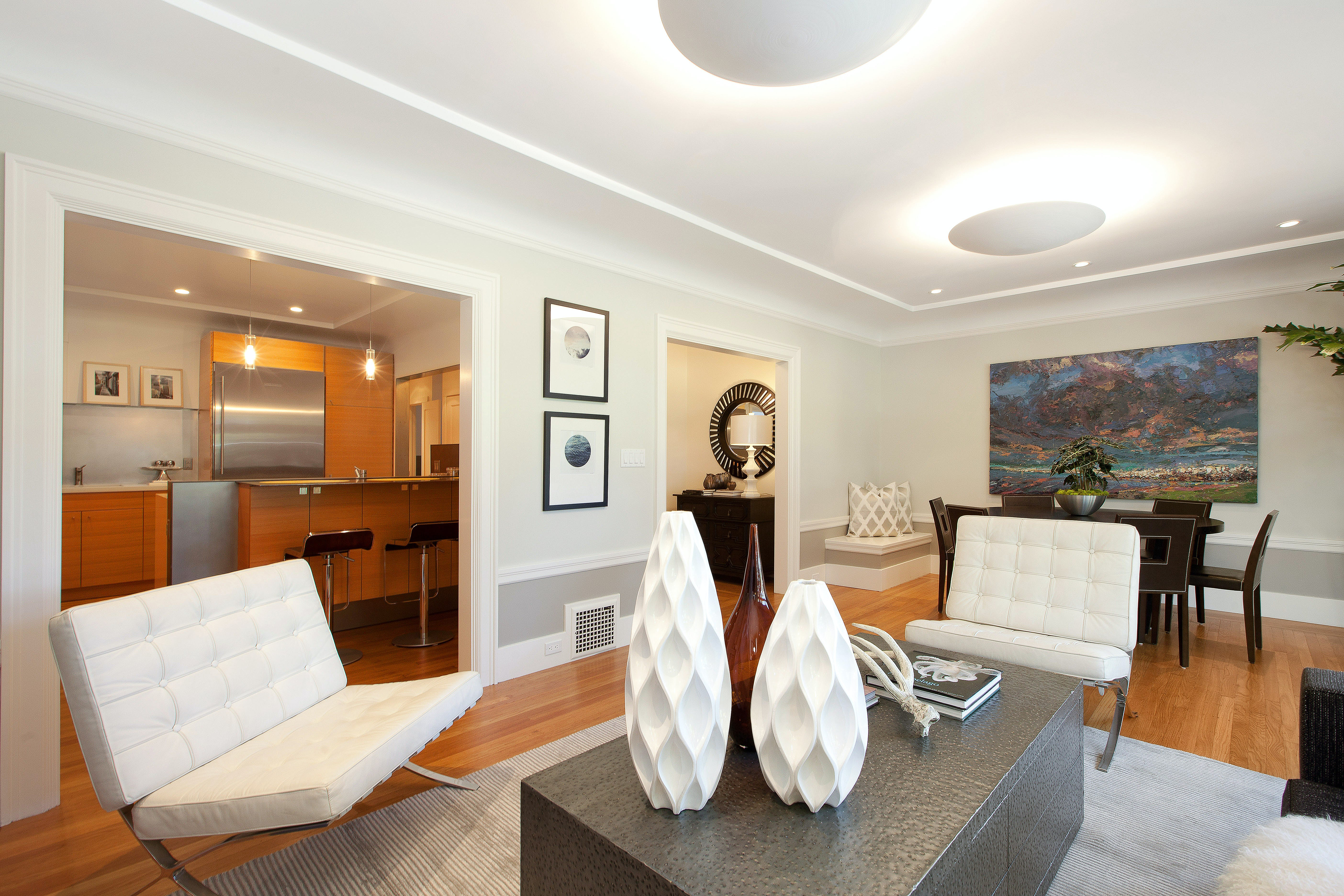 Builtform construction 20th st modern livingroom