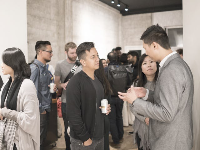 Feifei feng ell exhibition opening