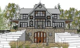 Modern  farmhouse northern michigan architect